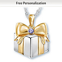 Grandma\'s Greatest Gifts Personalized Pendant Necklace