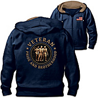 Brotherhood Of Veterans Men\'s Hoodie