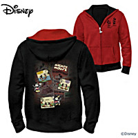 Disney Twice The Fun Reversible Hoodie