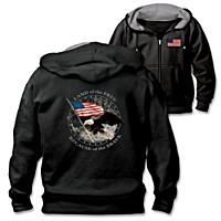 Land Of The Free Men\'s Hoodie