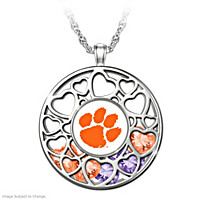 Clemson Tigers Pendant Necklace