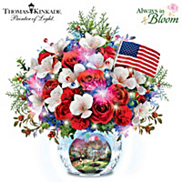 Thomas Kinkade Hometown Pride Table Centerpiece