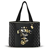 Military Pride Marine Corps Tote Bag