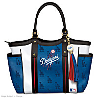 Home Run Dodgers! Tote Bag