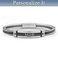 A-Game Personalized Men\'s Bracelet