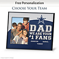 Dad\'s Fans Personalized Picture Frame