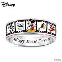 Disney Mickey Mouse Forever Spinning Ring