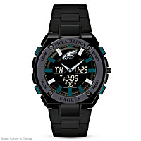 It\'s Philadelphia Eagles Time! Men\'s Watch