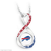 Buffalo Bills Forever Pendant Necklace