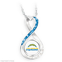 Los Angeles Chargers Forever Pendant Necklace