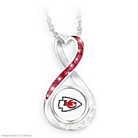 Kansas City Chiefs Forever Pendant Necklace