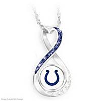 Indianapolis Colts Forever Pendant Necklace