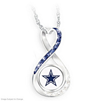 Dallas Cowboys Forever Pendant Necklace