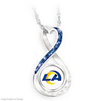 Los Angeles Rams Forever Pendant Necklace