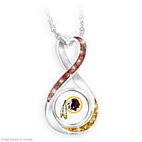 Washington Redskins Forever Pendant Necklace