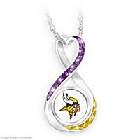 Minnesota Vikings Forever Pendant Necklace