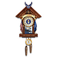 United States Air Force Aim High Cuckoo Clock