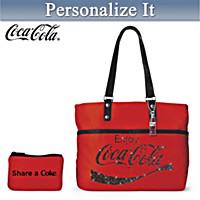 Share A COKE Personalized Tote Bag