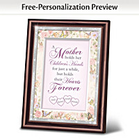 A Mother\'s Love Personalized Wall Decor