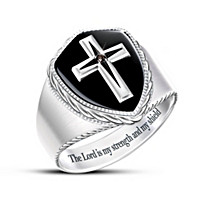 The Lord Is My Strength Ring