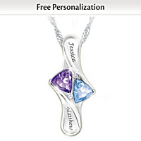 Love\'s Promise Personalized Pendant Necklace