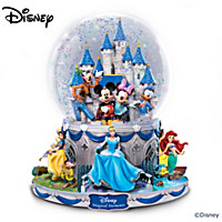 Disney Magic Glitter Globe