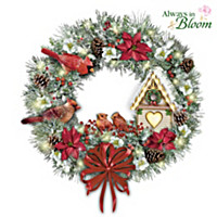 Home Is The Heart Of The Holidays Wreath