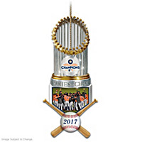 2017 World Series Champions Astros Trophy Ornament