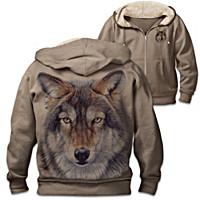 Wild Wolf Men\'s Hoodie