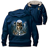 Wolves Of The Wild Men's Hoodie
