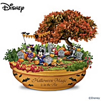 Disney Halloween Magic Garden Sculpture