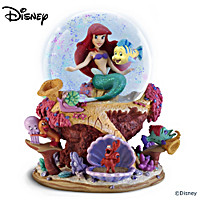Disney The Little Mermaid Glitter Globe