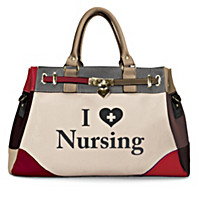 I Love Nursing Handbag