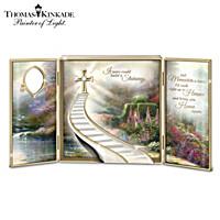 Thomas Kinkade Stairway To Heaven Shadow Box