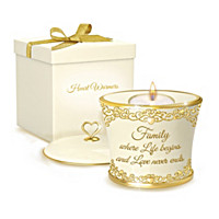 Family\'s Loving Devotion Candleholder