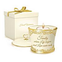 Family\'s Loving Devotion Candleholder