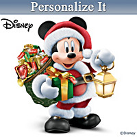 Disney Delivering A Very Magical Christmas Sculpture
