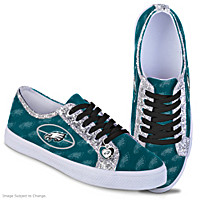 Philadelphia Eagles Ever-Sparkle Women's Shoes