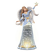 Stars In The Sky Angel Glitter Globe