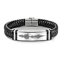 Son, Always Remember I Love You Men's Bracelet