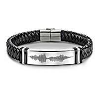 Son, Always Remember I Love You Men\'s Bracelet