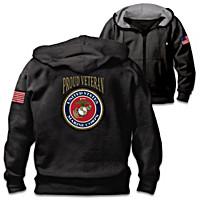 Veterans Pride Marine Corps Men\'s Hoodie