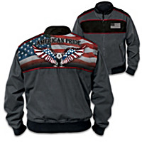 Patriotic & Proud Men\'s Jacket