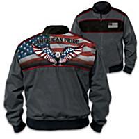 Patriotic & Proud Men\'s Jacket