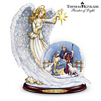 Thomas Kinkade Guiding Light Snowglobe