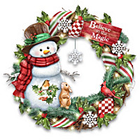 Believe In The Magic Wreath