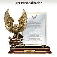 Air Force Honor Personalized Sculpture