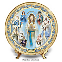 Visions Of Mary Collector Plate