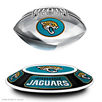 Jacksonville Jaguars Levitating Football Sculpture