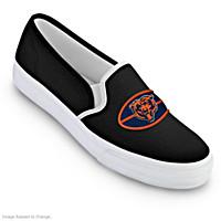 Chicago Bears Fashion & Football Women\'s Shoes